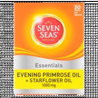 Seven Seas Evening Primrose Plus Starflower Oil Capsules 1000mg