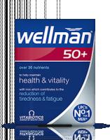 Vitabiotics Wellman 50+ Tablet