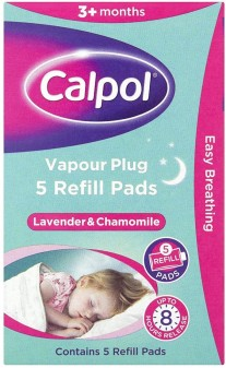 Calpol Soothe & Care Vapour Plug And Nightlight Refill Pads