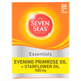 Seven Seas Evening Primrose Plus Starflower Oil Capsules 1000mg