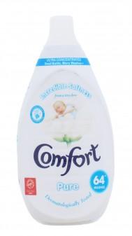 Comfort Fabric Conditioner Pure 64 Wash