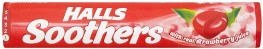 Halls Soothers Strawberry 10s