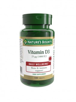 Nature'S Bounty Vitamin D3 25 µg (1000 IU)