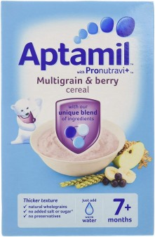 Aptamil Cereals Stage 2 (7+) Multigrain & Berry 200g