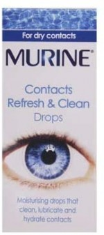 Murine Contacts Refresh And Clean 15ml