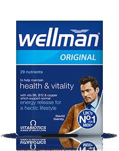 Vitabiotics Wellman Vit/Min Tab
