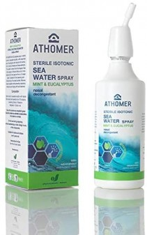 Athomer Seawater Nasal Spray Mint & Eucalyptus 150ml