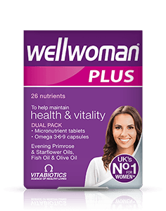Vitabiotics Wellwoman Plus Omega 3-6-9 28tab+28 Caps