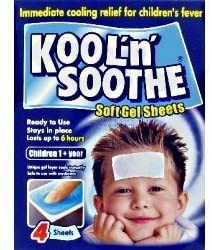 Fever Kool 'N' Soothe Sheets