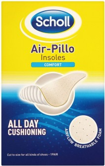 Scholl Insoles Air-Pillo Comfort Cut-TO-Size