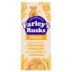 Farley Rusks Banana 9S