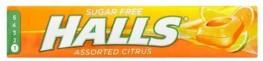 Halls Mentholyptus Citrus Sugar Free 32g