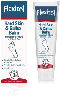 Flexitol For Feet Hard Skin And Callus Balm 56g