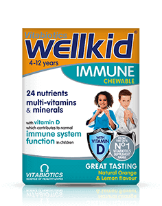 Vitabiotics Wellkid Immune Tablet