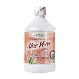 Holland & Barrett Aloe Vera Juice Drink Cranberry