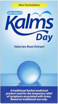 Kalms Day Herbal Sedative Tablets 33.75mg