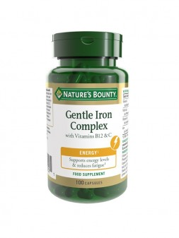 Nature'S Bounty Gentle Iron Complex With Vitamins B12 & C
