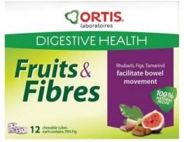 Ortis Ortisan Fruits & Fibre Cubes 12s