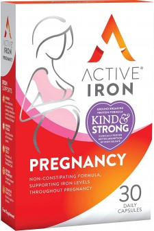 Active Iron Capsules Iron Supplement For Pregnancy 57 30