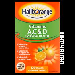 Haliborange Orange Flavour Acd Tablets 120'S