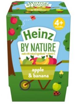 Heinz Apple Banana Fruit Pot 4pk