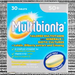 Seven Seas Multibionta 50 + Tablets