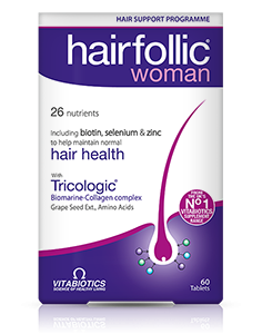 Vitabiotics Wellwoman Hairfollic Tab