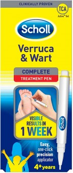 Scholl Foot Treatment Wart And Verruca One Click Pen 2ml