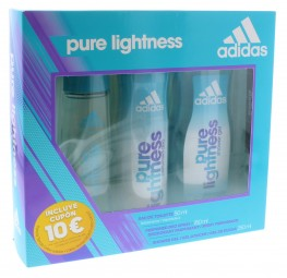 Adidas Pure Lightness 3pc (Edt, Deo Spray & Shower Gel)