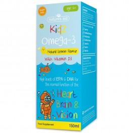 Natures Aid (6-12 Years) Kidz Omega-3