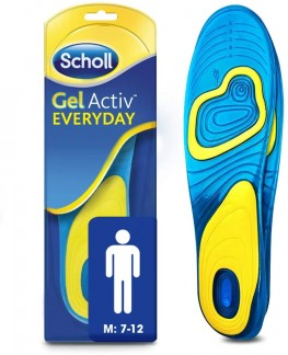 Scholl Gel Active Everyday Insoles Men
