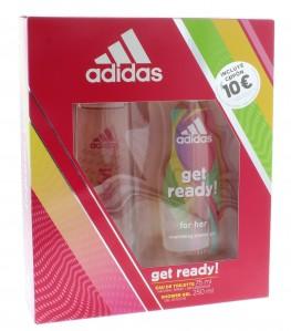 Adidas Get Ready Set 2pc (Edt Spray & Shower Gel)