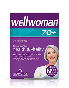 Vitabiotics Wellwoman 70+ 30 Tablet