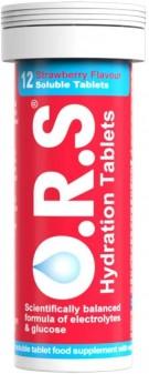 Ors Rehydration Salt Tablets Strawberry