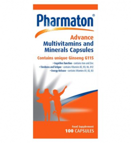 Pharmaton Advance Multivitamins And Minerals 100 Capsules