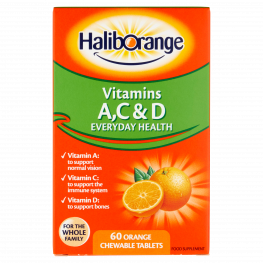 Haliborange Mr. Men Orange Flavour Acd Tablets