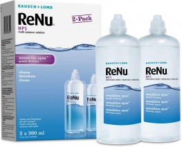 Renu Multi-Purpose Contact Lens Solution 2 X 360ml