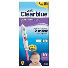 Clearblue Digital Ovulation Test 10s