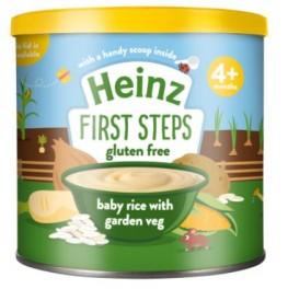 Heinz Baby Rice & Garden Veg