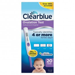 Clearblue Digital Ovulation Test With Dual Hormone Indicator Test 20s