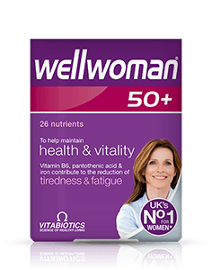 Vitabiotics Wellwoman 50+ Tablet