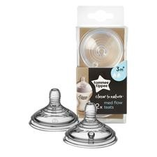 Tommee Tippee Closer TO Nature Teat Medium Flow