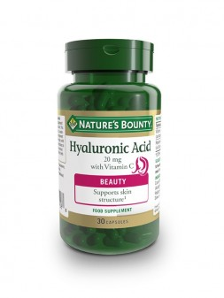Nature'S Bounty Hyaluronic Acid 20 MG With Vitamin C