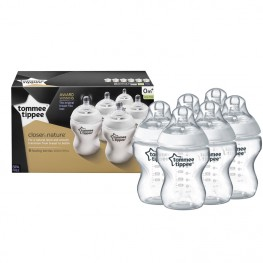 Tommee Tippee Closer TO Nature Bottle 6pk