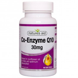 Natures Aid CO-Q-10 30mg (CO-Enzyme Q10)