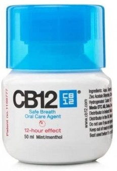 Cb12 Safe Breath Oral Care Agent Mint