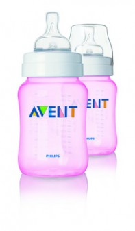 Philips Avent Classic+ Bottle Pink 260ml