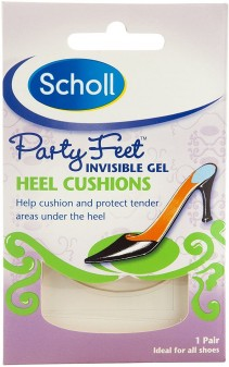 Scholl Party Feet Invisible Gel Heel Cushion