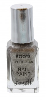 Barry M Boots Limited Edition 10ml Nail Polish Snowflake Loose