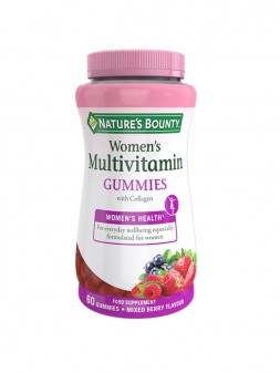 Nature'S Bounty Women'S Multivitamin Gummies With Collagen